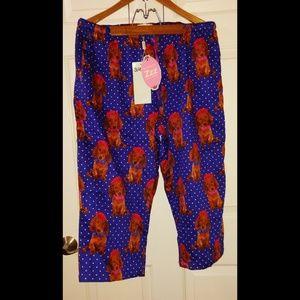 NWT *AUTHENTIC* Peter Alexander Silk 3/4 Pyjamas